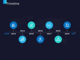 Timeline 2013 To 2019 C698 Ppt Powerpoint Presentation Background Icons