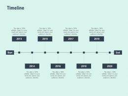 Timeline 2013 To 2020 F813 Ppt Powerpoint Presentation Portfolio Gallery