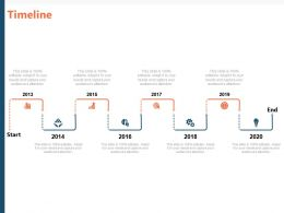 Timeline 2013 To 2020 M39 Ppt Powerpoint Presentation File Good
