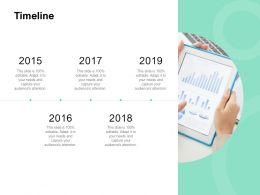 Timeline 2015 To 2018 C981 Ppt Powerpoint Presentation Icon Inspiration