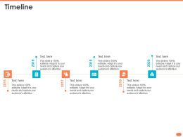 Timeline 2015 To 2020 N328 Ppt Powerpoint Presentation Objects