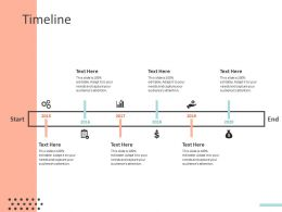 Timeline 2015 To 2020 Ppt Powerpoint Presentation Icon Topics