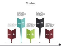 Timeline 2015 To 2035 Years Ppt Powerpoint Presentation Icon Inspiration