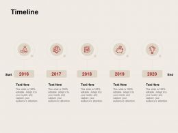 Timeline 2016 To 2020 C932 Ppt Powerpoint Presentation Gallery Clipart