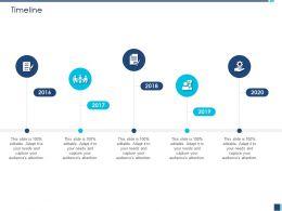 Timeline 2016 To 2020 M1229 Ppt Powerpoint Presentation Portfolio Pictures