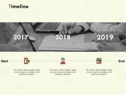 Timeline 2017 To 2019 L160 Ppt Powerpoint Presentation Images