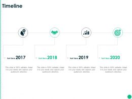 Timeline 2017 To 2020 L1212 Ppt Powerpoint Presentation Icon