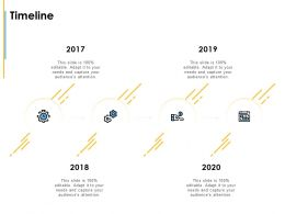 Timeline 2017 To 2020 Ppt Powerpoint Presentation Icon Inspiration