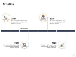 Timeline 2017 To 2020 Years Ppt Powerpoint Presentation Templates