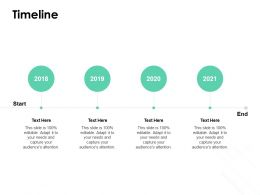 Timeline 2018 To 2021 L824 Ppt Powerpoint Presentation Gallery Demonstration