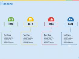 Timeline 2018 To 2021 Years Audience Ppt Powerpoint Presentation Designs Download