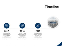 Timeline 3 Year Process C352 Ppt Powerpoint Presentation Slides Maker