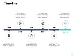 Timeline 6 Year Process E395 Ppt Powerpoint Presentation Visuals