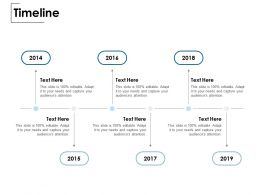 Timeline Audience Attention Ppt Powerpoint Presentation Slides Ideas