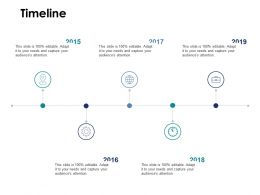 Timeline Audience H7 Ppt Powerpoint Presentation Pictures Example Topics