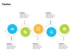 Timeline Audiences Attention Blockchain Technology Ppt Powerpoint Visual Aids