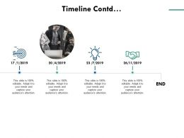 Timeline Contd Technology Opportunity C730 Ppt Powerpoint Presentation Visual Aids Deck
