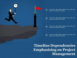 timeline_dependencies_emphasising_on_project_management_Slide01