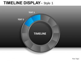 Timeline Display 1 Powerpoint Presentation Slides DB