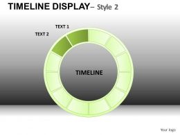 Timeline Display 2 Powerpoint Presentation Slides DB