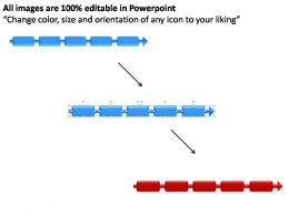 Timeline Display Style 6 Powerpoint Presentation Slides