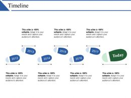 Timeline Example Of Ppt