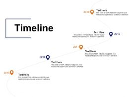 Timeline Five Year Process C136 Ppt Powerpoint Presentation Model Introduction