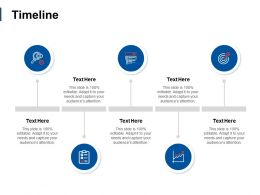 Timeline Five Year Process C13 Ppt Powerpoint Presentation File Master Slide