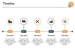 Timeline Five Year Process Ppt Powerpoint Presentation Icon Format Ideas
