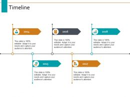 Timeline Five Year Process Ppt Powerpoint Presentation Visual Aids Ideas