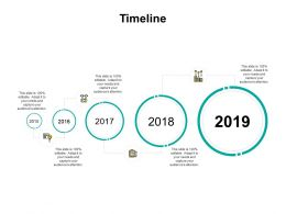 Timeline Five Years F229 Ppt Powerpoint Presentation Pictures Background Image