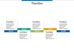 Timeline Five Years F530 Ppt Powerpoint Presentation Outline Infographic Template