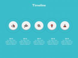 Timeline Five Years Ppt Powerpoint Presentation Slides Background Images