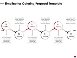 Timeline For Catering Proposal Template Ppt Powerpoint Presentation Icon Examples