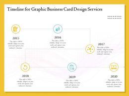 Timeline For Graphic Business Card Design Services Ppt File Brochure