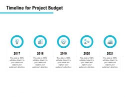 Timeline For Project Budget Ppt Powerpoint Presentation Ideas Template
