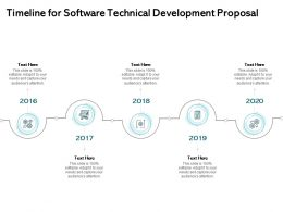 Timeline For Software Technical Development Proposal Ppt Inspiration
