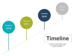 Timeline Four Year Process Ppt Powerpoint Presentation File Demonstration