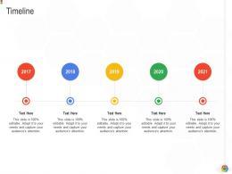 Timeline Google Cloud IT Ppt Sample Elements Background Pictures