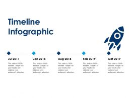 Timeline Infographic Five Years F525 Ppt Powerpoint Presentation Model Graphics Template