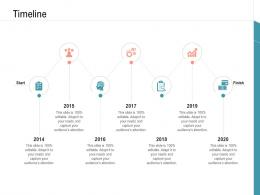 Timeline Infrastructure Management Services Ppt Summary