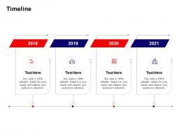 Timeline Investment Pitch Deck To Raise Funds Through ICO Ppt Powerpoint Presentation Portfolio Elements