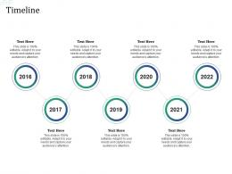 Timeline Investment Pitch Raise Funds Financial Market Ppt Background