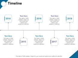 Timeline Liner Process Ppt Professional Graphics Example