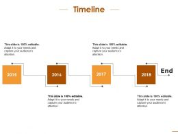 Timeline Management With Years Planning Ppt Infographic Template Layouts