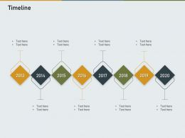 Timeline N520 Powerpoint Presentation Objects