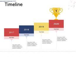Timeline N534 Powerpoint Presentation Elements