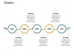 Timeline Nursing Management Ppt Summary