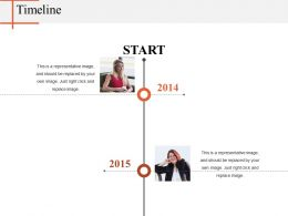 Timeline Powerpoint Layout