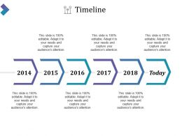 Timeline Powerpoint Presentation Examples